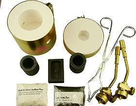 Mini Propane Gas Furnace Kit - Mold, Kiln, Flux, Tips, Crucibles & Tongs - MELT Gold & Silver