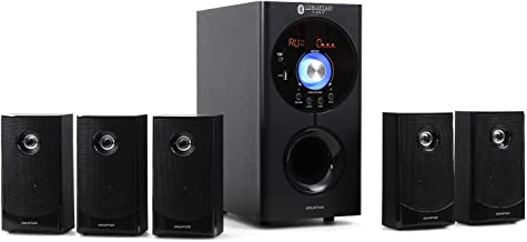 auna Concept 620 - Sistema Sonido Envolvente 5.1 , Home Cinema , Surround , 95 W RMS , Subwoofer emisión Lateral 6,5