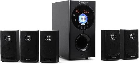 auna Areal Active 620 • 5.1 Surround Sound System • Home Cinema System • Bass Reflex • 5 Satellite Speakers • Active 6.5