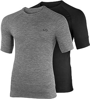 Contour Athletics Men's (Hydrafit) Quick Dry Short Sleeve Running Fitness Performance T-Shirt …