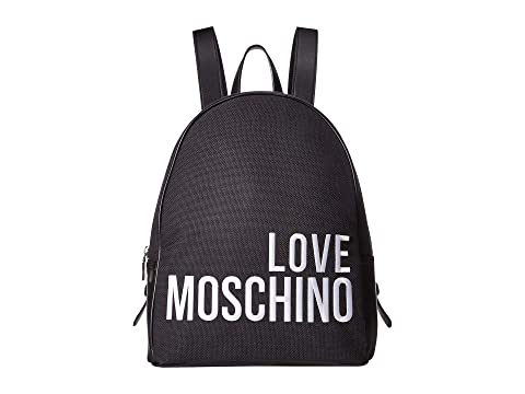 LOVE Moschino Canvas Embroidery Backpack