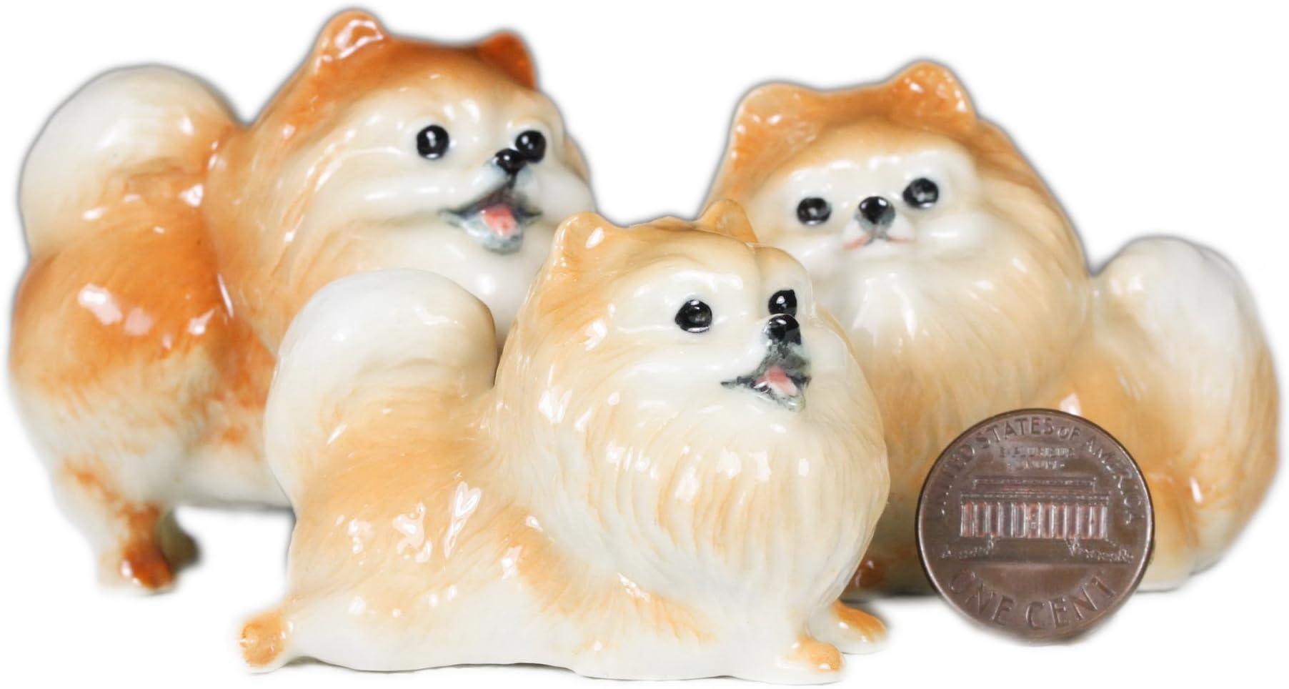 Tiny Porcelain Cocker Spaniel Pendant \u2022 Hand Painted \u2022 Hand Made \u2022 Gift For Her \u2022 Animal lover \u2022 Kids Gift \u2022 Cute Miniature Figurine AT111
