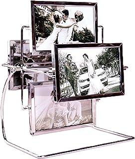 LXHDKDT Cadre Photo, Cadres Photo, Photo Frames, Picture Frames, Cadre De Pendule De Luxe Créatif Grande Roue Pendule De C...