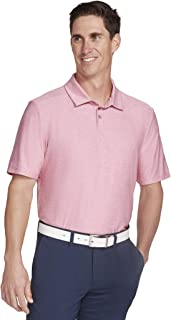 Skechers Men's Pitch Shot Short Sleeve Solid Golf Polo