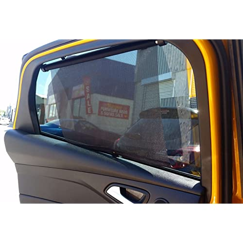 PSSC Pre Cut Rear Car Window Films for Suzuki Grand Vitara 3 Door 2005 to 2008 05/% Very Dark Limo Tint
