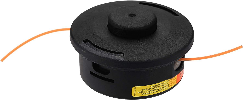 AutoCut 25-2 Trimmer Head for STIHL - Brush Cutter Garden Tool Accessories - Lawn Mower Trimmer Head Replacement - for STIHL FS55R FS85 FS100 FS120 FS130 FS200 FS250 KM55 KM85 KM90 C25-2 40027102108
