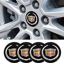 4 x 56.5mm Car Lettering BBS Wheel Center Cap Sticker Wheel Emblem Badge Logo Stickers fit Cadillac Accessory