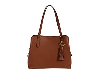 LAUREN Ralph Lauren Classic Pebble Quinn 34 Shoulder Bag Large