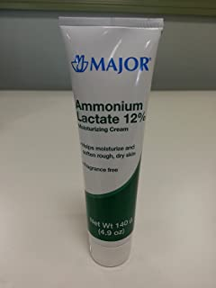 [2 PACK] Ammonium Lactate 12% Moisturizing Cream 140 Gm Flip-Top Tube by Major