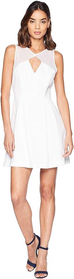Peekaboo Fit & Flare Dress