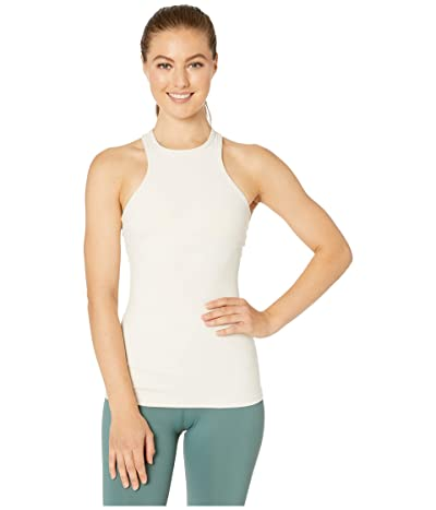 Beyond Yoga Under Lock and Keyhole Tank Top (Sand Swept) Women