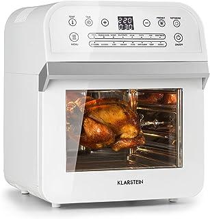 comprar comparacion Klarstein AeroVital Cube Freidora de aire caliente - Sistema 3D Heating: 1600 W de potencia, 12 litros, 16 programas, Tecn...