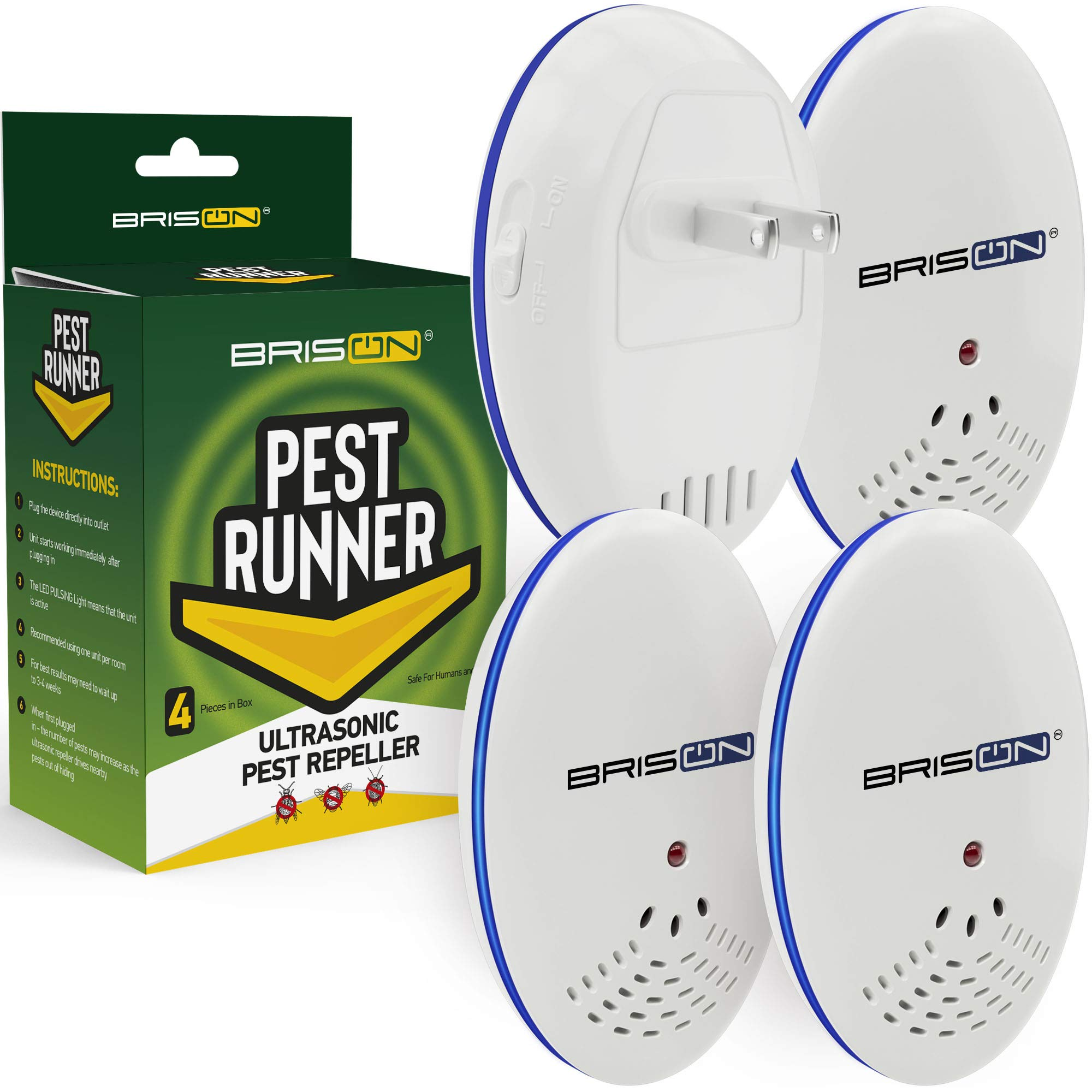 Pest Control Ultrasonic Repellent Electronic