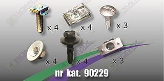 - 8D0805960 YOU.S Original Unterfahrschutz Schrauben Klemmmuttern Set 10-teilig