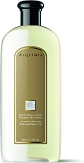 Alqvimia Relaxing Lavender Bath And Shower Gel, 400 ml