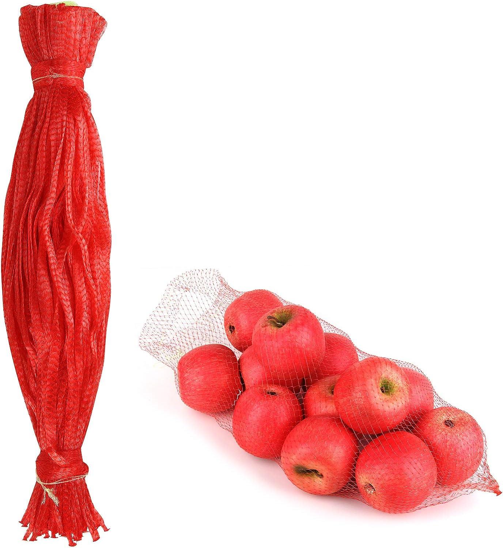 Lamoutor 100Pcs lowest price Plastic Mesh Max 88% OFF Bags Reusable 24