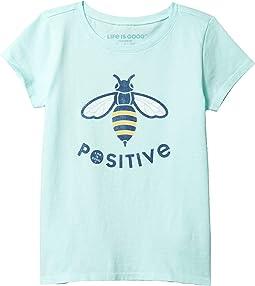 Bee Positive Crusher Tee (Little Kids/Big Kids)