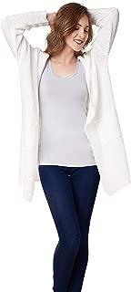 Open Front Women's Cardigan Sweater Knit Oversized Outwear Coat Long Sleeve