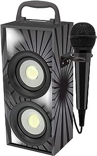 Jack 3,5 et Adaptateur 6,3 mm Lexibook Microphone Disney Frozen La Reine des Neiges Elsa MIC100VI Rose chanter avec les enfants ou entre amis Haute sensibilit/é