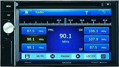"Jensen JRV215N 6.1"" Inch TFT LCD Touch Panel AM/FM/CD/DVD/USB/iPod/iPhone Bluetooth Stereo w/ Navigation, SiriusXM Ready, 3 Camera Inputs with Auto-Trigger (CAM1 w/ Audio), NOAA, No Harness (Renewed)"