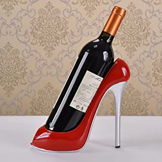 ATC® Unrestrained Passion Red High Heeled Shoes Decorative Wine Bottle Holder