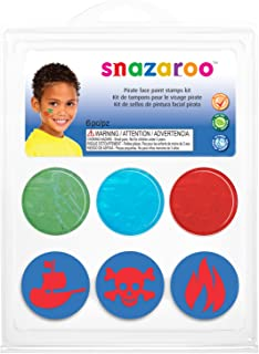 Snazaroo Stamp Face Painting Kit for Boys