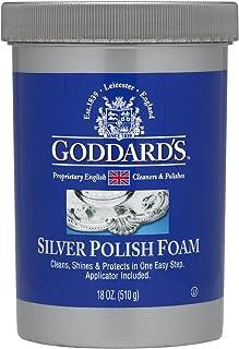 Goddards pulidor de plata – 510 g con aplicador de esponja de espuma de limpieza – Eliminador de desgaste
