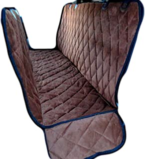 Plush Paws Premium Velvet Pet Seat Cover Hammock Convertible for Cars, Trucks & SUV's