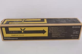 Kyocera Mita TK-8507Y 1T02LCCUS0 TASKalfa 4550 4551 5550 5551 CI Toner Cartridge (Yellow) in Retail Packaging