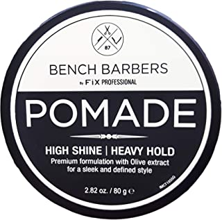 Bench Barbers By FiX Professional Pomade High Shine, Heavy Hold