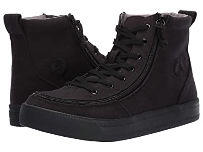 BILLY Footwear Classic Lace High Canvas (Black to The Floor) Men