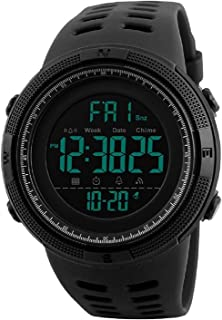 SKMEI Black Dial Black Digital Dial Men's And Boy's Watch