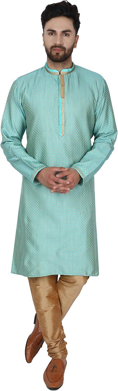 outlet SKAVIJ New color Men's Tunic Art Silk Kurta Festive Party Wedding S Pajama