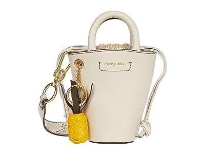 See by Chloe Cecilia Shoulder Bag (Cement Beige) Handbags