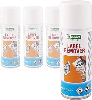 D.RECT Lot de 4 Décolles étiquettes Aérosol | 400ml