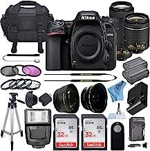 $1119 » Nikon D7500 20.9MP DSLR Digital Camera w/AF-P DX NIKKOR 18-55mm f/3.5-5.6G VR Lens & AF-P DX 70-300mm f/4.5-6.3G ED Lens +...