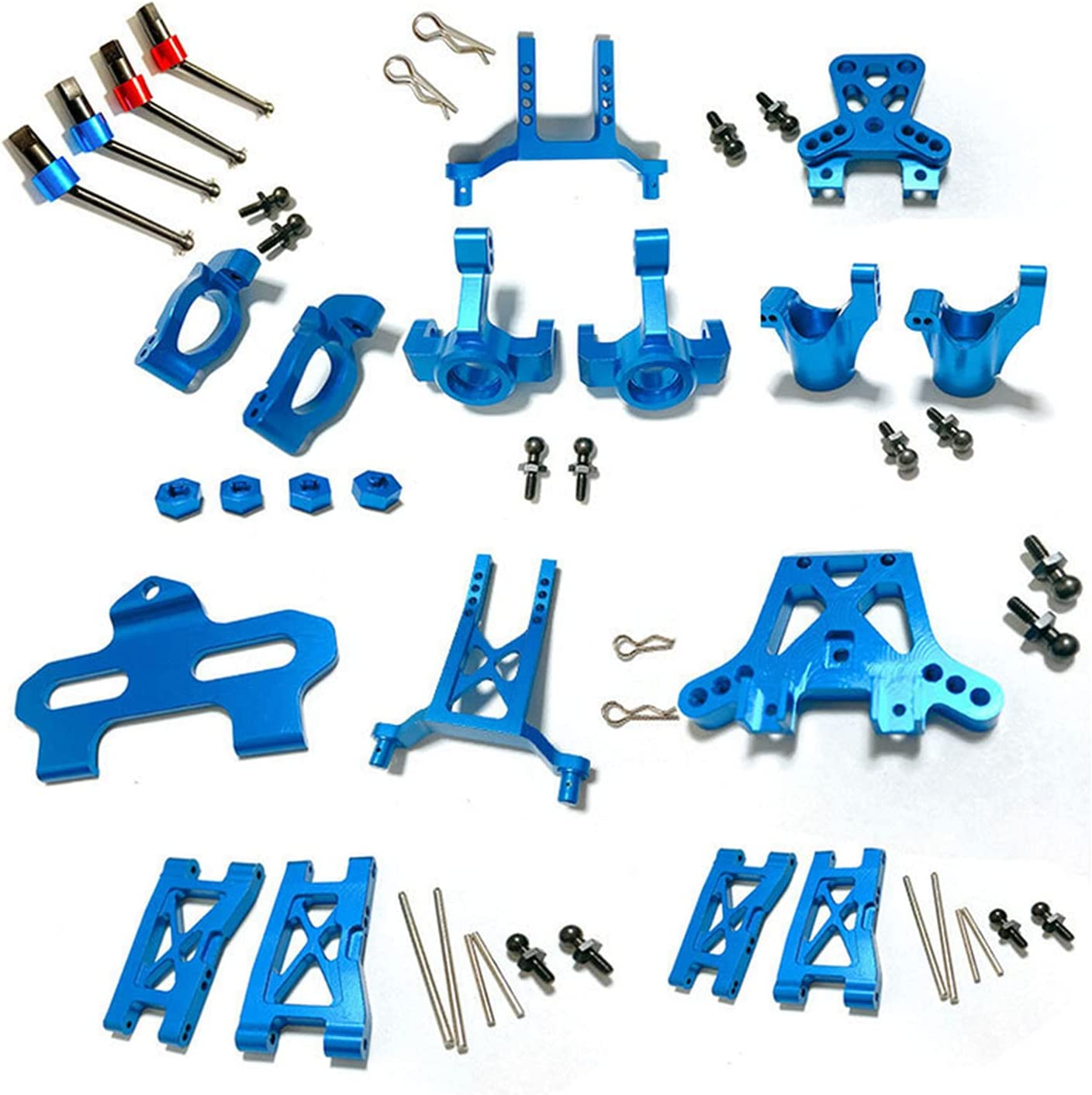 Our shop OFFers the best service XHSESA Full Set Blue RC Shipping included Universal Accessories Hardened CVD Metal