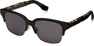 نظارات شمسية بتصميم نصف اطار من مارك جايكوبز للجنسين