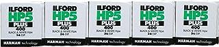 Película fotográfica Ilford HP5+ (35mm 36 Fotos por Rollo 5 Rollos)