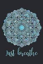 Mandala Just Breathe Yoga Meditation: Notebook Planner -6x9 inch Daily Planner Journal, To Do List Notebook, Daily Organiz...