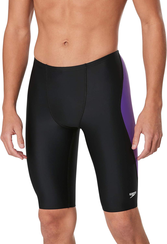 Speedo Men's 新作からSALEアイテム等お得な商品 満載 Swimsuit Jammer Powerflex Team Splice 新品 送料無料 Revolve C Eco