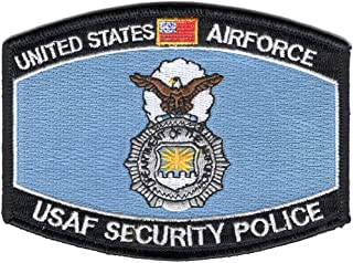 air force security police patches