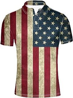 Fashion Men's Pique Polos Shirt Short Sleeve