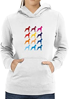 Eddany Colorful Miniature Pinscher Women Hoodie