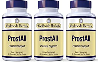 ProstAll Men's Prostate Supplement/Supports Prostate & Urinary Health, Reduces Bathroom Trips and Promotes Sleep. Reduce F...