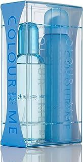 Colour Me | Sky Blue | Eau de Toilette and Body Spray | Perfume 2 Piece Gift Set | Womens Fragrance | Chypre Floral Scent | EDT Spray - 3.4 oz / Body Spray - 5.1 oz