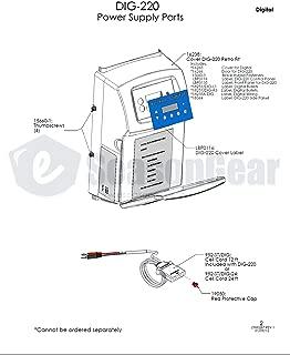 AutoPilot 15660-1, Thumbscrews for DIG-220/ST-220 (4 pcs)