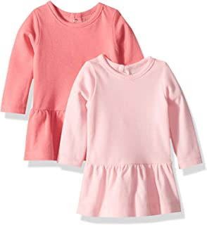 Ultimate Baby Flexy 2 Pack Knit Long Sleeve Dresses