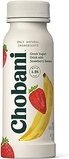Chobani Greek Yogurt Drink, Strawberry Banana 7oz