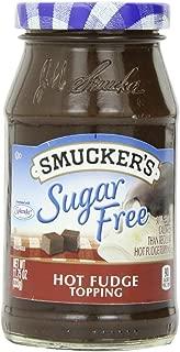 Smucker's Sugar Free Hot Fudge Topping (Pack of 2) 11.75 oz Jars